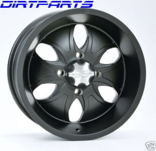 ITP System 6 Wheel Rims Kit 14 Wheels Rincon Grizzly
