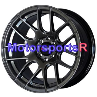 Chromium Black Concave Rims Wheels 4 Lugs 98 Nissan 240sx S14