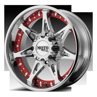 Chrome with 35x12 50x18 Nitto Mud Grappler MT Tires Wheels Rims