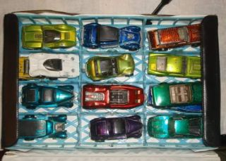 Collection of Vintage Red Line Hot Wheels and Mattel Collector Rase