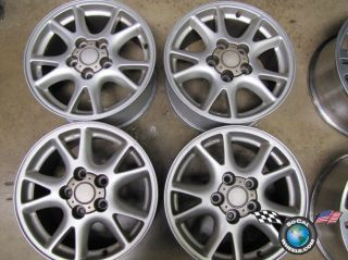 00 02 Chevy Camaro Factory 16 Wheels Rims Firebird 593457 5089