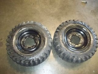 05 Sportsman Polaris 500 Rear Tires Wheels Rims