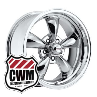 17x8 Chrome Wheels Rims 5x4 75 Lug Pattern for Chevy Impala 1967