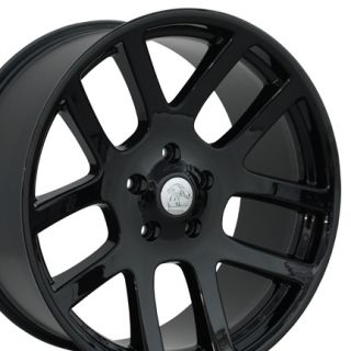 Black Dodge RAM Dakota Durango SRT Replica Wheels Rims 20x9 New