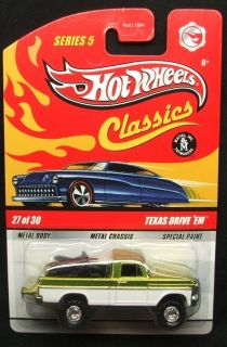 Wheels Classics Series 5 Spectraflame Antifreeze Texas Drive Em #27