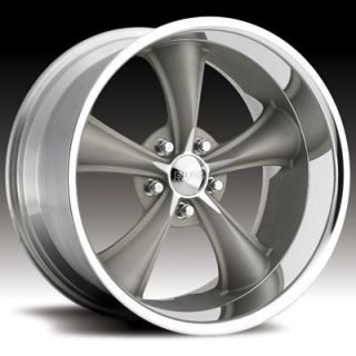 Boss Motorsports Style 338 Wheels Rims 20x8 5 5x4 5 28mm Gray