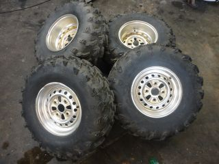Foreman 500 TRX500 Rubicon 4x4 Rims 27 Swamp Lite Tires Wheels