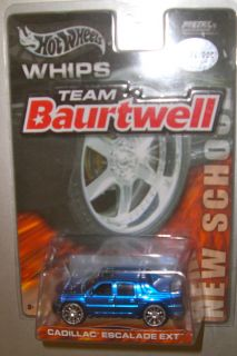 WHEELS BRIGHT BLUE CHASE CADILLAC ESCALADE EXT TEAM BAURTWELL 1 0F 30