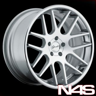 ACCORD COUPE GIANELLE YEREVAN LIGHTWEIGHT SILVER CONCAVE WHEELS RIMS