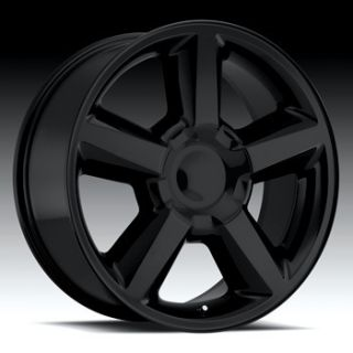 GMC TRUCK SUV SIERRA DENALI SILVERADO TAHOE BLACK LTZ WHEELS NEW 31MM