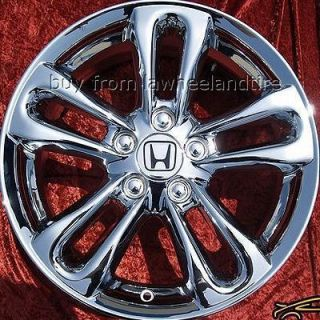 NEW 17 HONDA CIVIC SI OEM CHROME WHEELS RIMS ACCORD PRELUDE CR V 63901