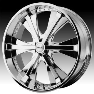 22 inch Helo Chrome Wheels Rims 6x135 30 Ford F150 Expedition