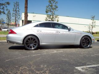 New 20 Mercedes Black Concave Wheels Tires SL CLS SL500 CLS500 SL550