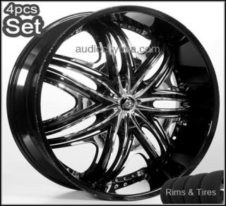 30 Diablo Wheels and Tires Pkg for Lexus Impala Honda Audi Jaguar