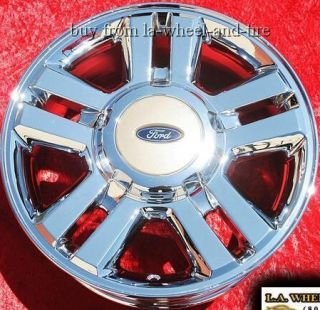 OF 4 NEW 18 FORD EXPEDITION F 150 OEM CHROME WHEELS RIMS EXCHANGE 3559