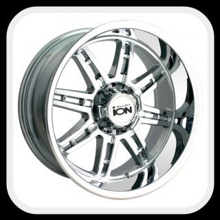 Ion 183 Wheels Rims 17x8 Fits Chevy Trailblazer SS GMC Envoy XL Denali