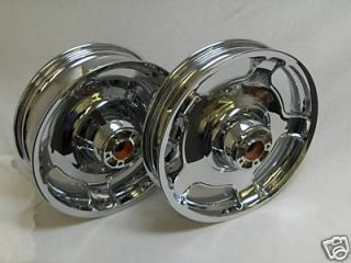 STREET GLIDE ROAD FLHX CRUISER TOURING CHROME WHEEL RIM WHEELS RIMS