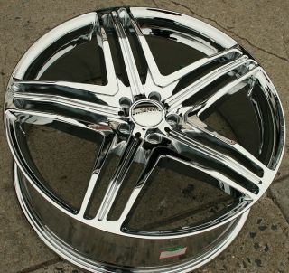 Menzari Z12 20 Chrome Rims Wheels Cadillac cts STS DTS GM 20 x 8 5 5H