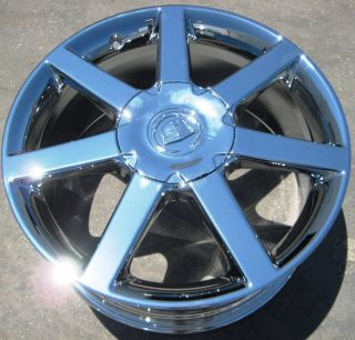 Your Stock 4 New 18 Factory GM Cadillac XLR Chrome Wheels Rims