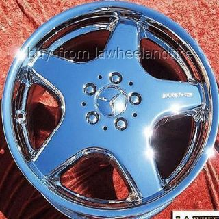 NEW 18 MERCEDES BENZ SL500 AMG CHROME OEM WHEELS RIMS 65228 EXCHANGE