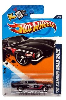 2012 Hot Wheels HW Performance 144 1970 Chevrolet Camaro Road Race
