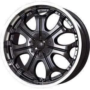 New 22x9 5 5x114 3 5x120 65 V Tec Black Wheels Rims