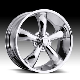 18 inch Vision 142 Legend 5 Chrome Wheels Rim 5x115 38