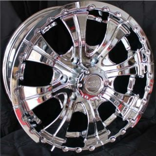 18 Inch CHROME RIMS 6 Lug Wheels Chevy Tahoe GMC Toyota Tacoma