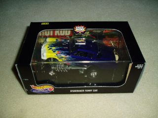 Hot Wheels Studebaker Funny Car 1 43 Die Cast SEALED RARE