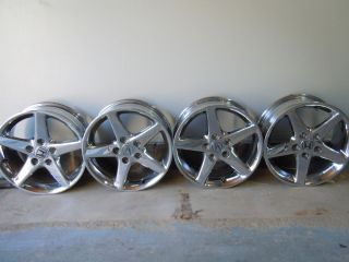 Acura RL RSX TSX TL CL 16 4 Chrome Wheels Rims