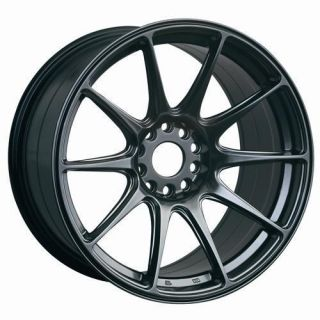18 XXR 527 BLACK RIMS WHEELS 18x8.75 +35 5x114.3 ALTIMA MAXIMA ECLIPSE