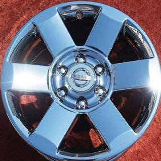 NEW 18 NISSAN ARMADA TITAN OEM CHROME FACTORY WHEELS RIMS QX56 62439