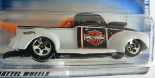 Hot Wheels 1940 Ford Truck Harley Davidson