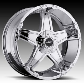 17 vtec 395 Chrome Wheels Rims Nissan Titan Armada