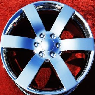 NEW CHEVROLET TRAILBLAZER SS 20 OEM CHROME WHEELS RIMS EXCHANGE 5254