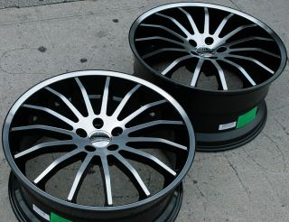 Giovanna Martuni 22 Black Rims Wheels x5 E53 5 Series
