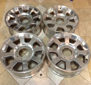 Ford F250 F350 Factory 20 Rims Wheels Set of 4