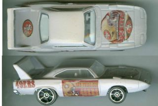 49 ers Plymouth Superbird Collectible Custom Hot Wheels Car