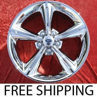 of 4 New 18 Ford Mustang GT Chrome Factory Wheels Rims 3834