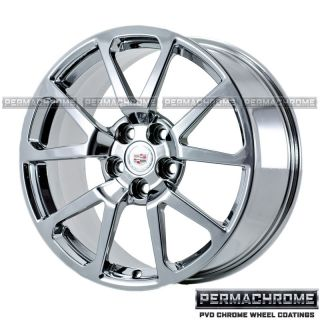 Cadillac cts V Sedan 19 PVD Chrome Wheels 4647 49