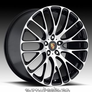 HR6 Wheels for Porsche Cayenne GTS VW Touareg Audi Q7 Rims Set