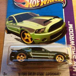 2013 Hot Wheels Secret Super Treasure Hunt 10 Ford Shelby GT500