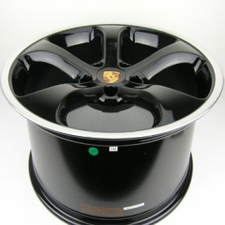 928 996 997 C2 C2S Concave Black Wheels Rims 5x130 19x8 5 19x11