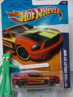 07 FORD SHELBY GT 500 #111★Kmart Excl Micro Cinder RED★Hot Wheels