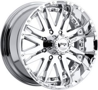 20 inch 20x9 Roxxy 8 Ford 8 Lug 8x170 Chrome Rims Wheels Set
