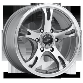 RACING SILVER AR898 6X5 5 COLORADO HUMMER ESCALADE QX56 RIMS WHEELS