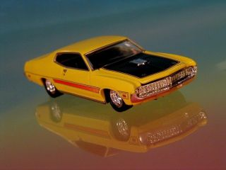 Hot Wheels 71 Ford Torino GT Ram Air Race Version Limited Edition 1 64