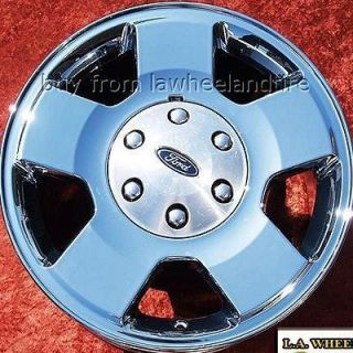 OF 4 NEW 17 FORD EXPEDITION F 150 OEM CHROME WHEELS RIMS EXCHANGE 3556