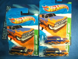 2011 HOT WHEELS TREASURE HUNT 59 CHEVY DELIVERY SUPER REG REG SUPER