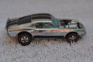 Vintage Redline Hot Wheels 1969 Mustang Boss Hoss RARE
